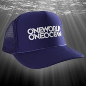Image of Blue Ocean Trucker Hat