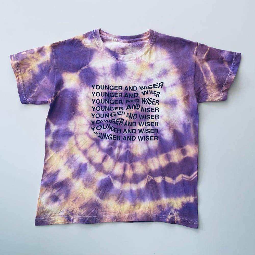 Reworked Younger + Wiser T-shirt Acid Rain