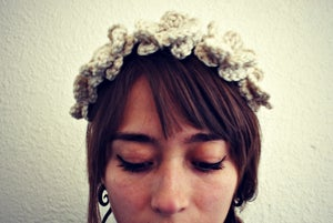 Image of Crochet Flower Crown