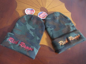 Image of Rich Raggs Death of Camo Camo/Red Beanie