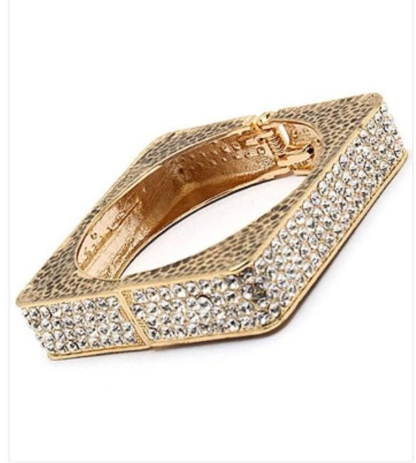 Image of heavy bling bracelet