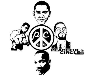 """Image of PEACEFUL CIRCLE """"HISTORY"""" TEE (LIMITED EDITION)"""