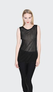 Image of Salome Sleeveless - Black