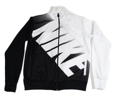 Image of Nike White Label Track Jacket (Blk/Wht)