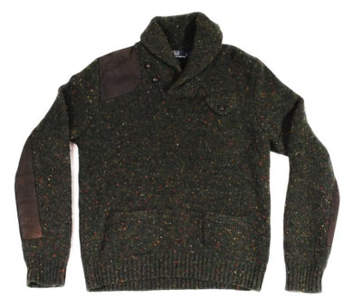 Image of Polo Ralph Lauren Shawl Neck Sweater Pullover