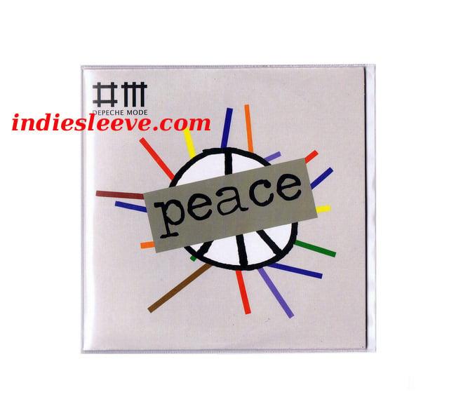 Image of 50 Pochettes plastique polyéthylène pour pochette CD single cardsleeve