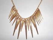 Image of Spiked Chain Necklace