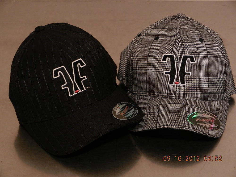 Image of FFM-6195P Fat Logo Pinstripe & Blk/White Plaid