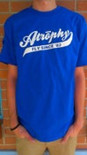 Image of Baseball Script Tee (Royal)