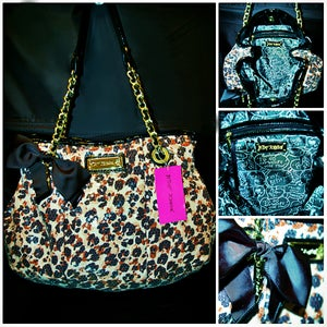 Image of Betsey Johnson Cheetah Tote