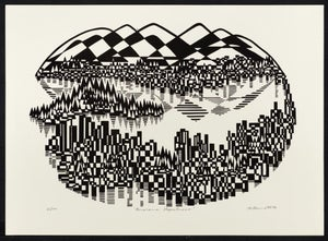 "Image of ""Majestic Panorama"" - Lithograph of Majestic Panorama"