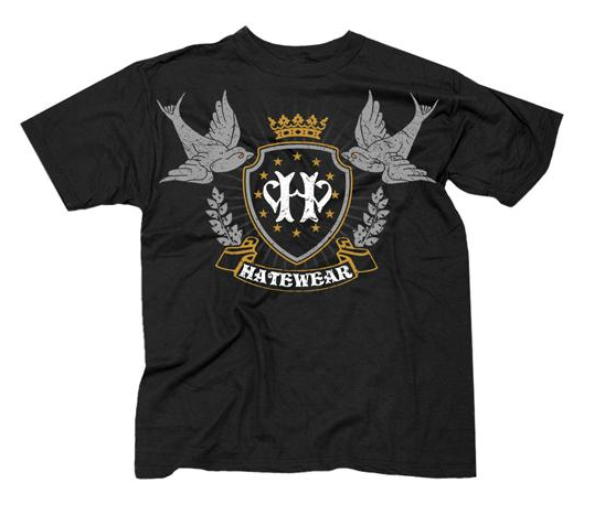 Image of CROWBAR'S TOUR POSTPONEMENT SALE! Hatewear Crown/Sparrows Shirt