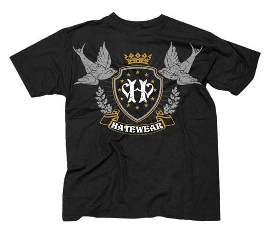 Image of CROWBAR'S TOUR POSTPONEMENT SALE! Hatewear Crown/Sparrows Shirt