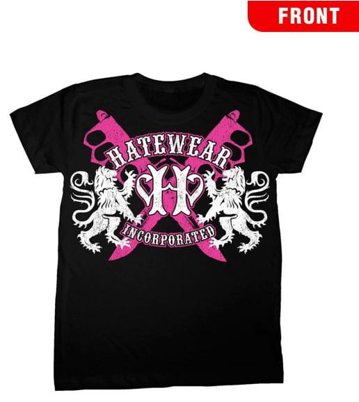 Hatewear Lions Logo Women's T-Shirt