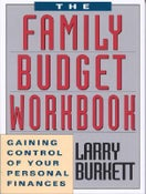 Image of The Family Budget Workbook - Larry Burkett