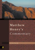 Image of Matthew Henry's Commentary