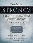 Image of The New Strong's Expanded Exhaustive Concordance of the Bible