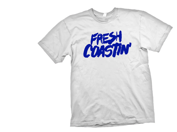 Image of Fresh Coastin' White/Royal-T