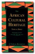 Image of The African Cultural Heritage Topical Bible
