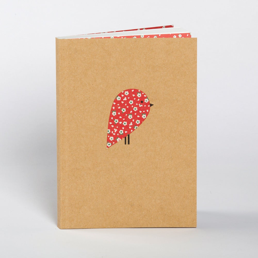 Image of Red Robin Boxed Blank Notebook