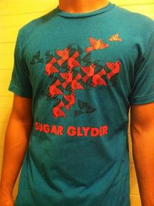 "Image of ""3D BIRD BLAST"" T-Shirt (unisex) *TULTEX* NEW!!!!"