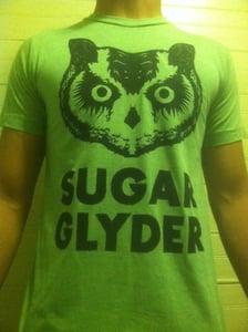 "Image of ""OWL HEAD"" SUGAR GLYDER T-SHIRT (unisex) *TULTEX*"
