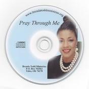 Image of Pray Through Me - CD