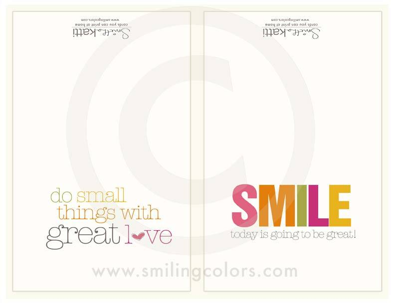 Image of SMILE cards
