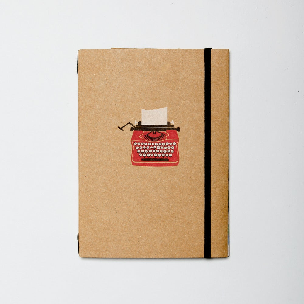 Image of Typewriter Lined Pocket Book