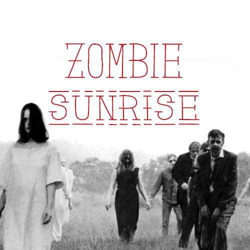 Image of Zombie Sunrise - Hand drawn font