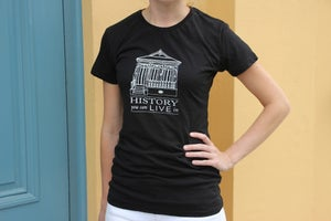 "Image of ""History You Can Live In"" Tee - Black"