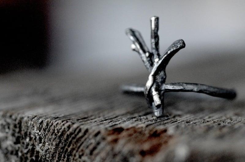 Image of ALGIZ rune ring