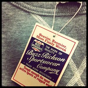 Image of Buzz Rickson V Front Sweatshirt