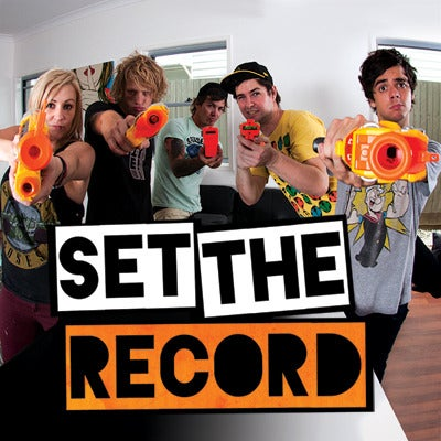 Image of Set The Record CD