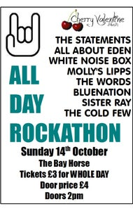 Image of All Day Rockathon VII - 14th October