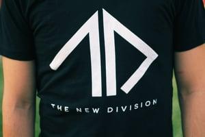 Image of TND Logo BLACK Shirt (Men & Women's)