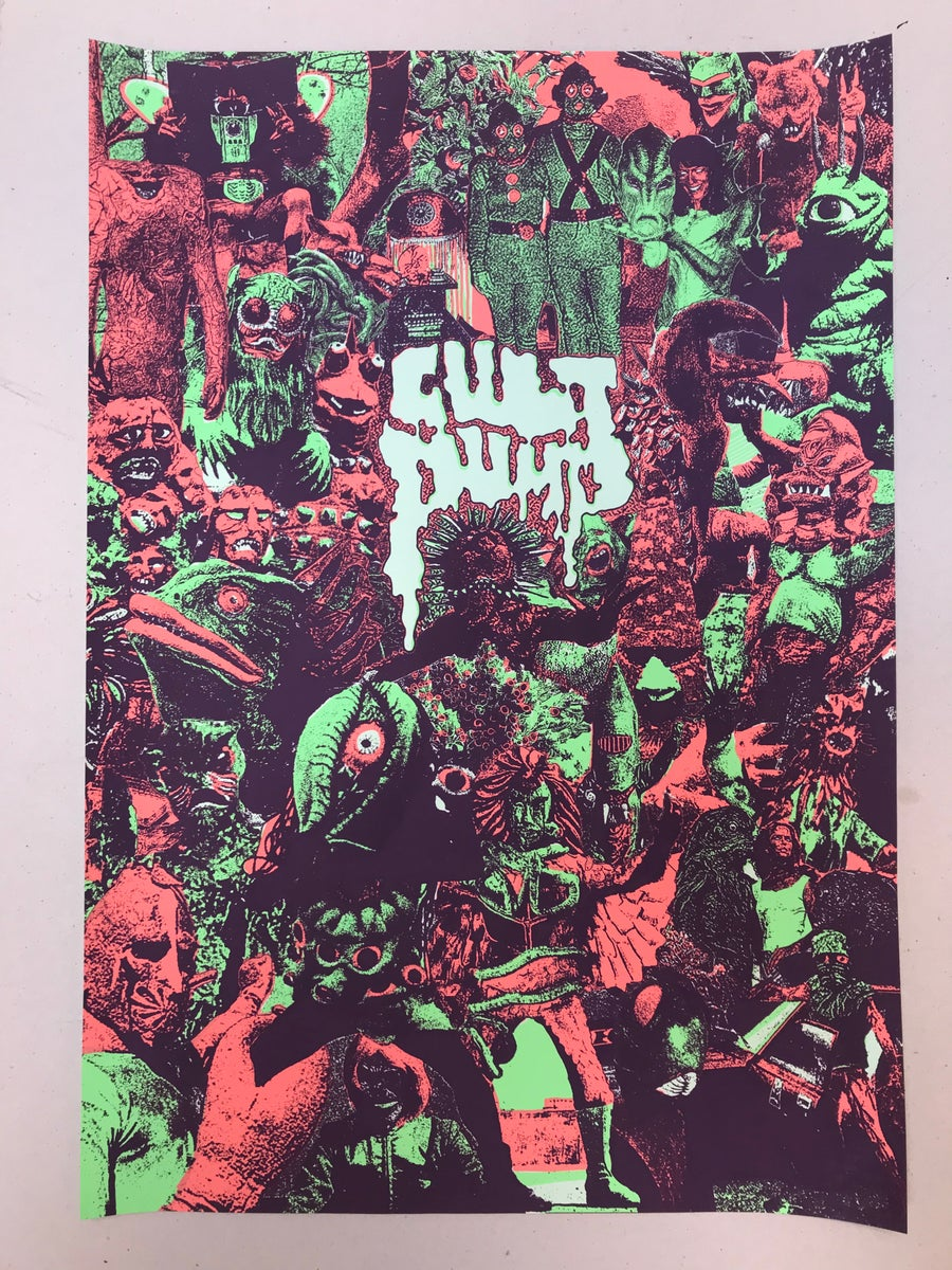 Image of Cult Pump poster