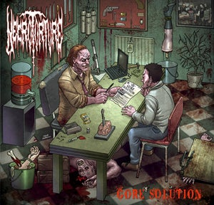 "Image of Necrotorture ""Gore Solution"" CD"