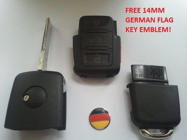 vw key battery 2014