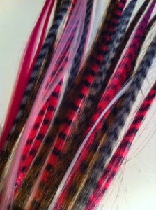 Image of Pink Feather Extension Mix