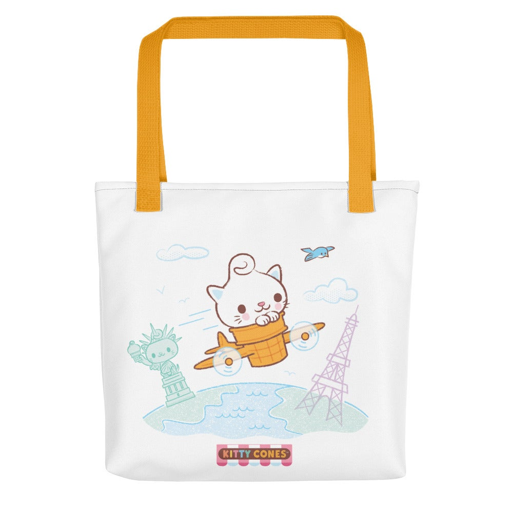Image of Kitty Cones Travel Fun Tote Bag