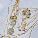 Moon Sun Necklace