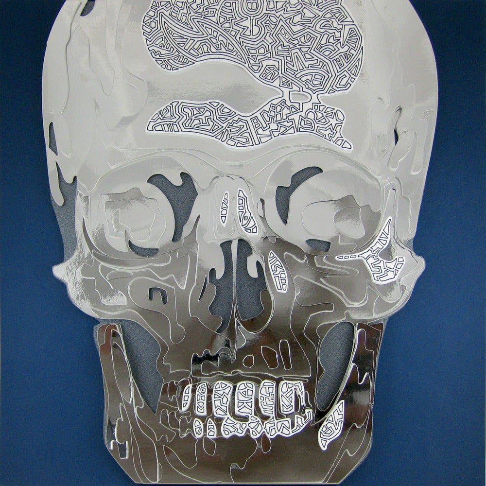 Image of Chrome Skull Optograph