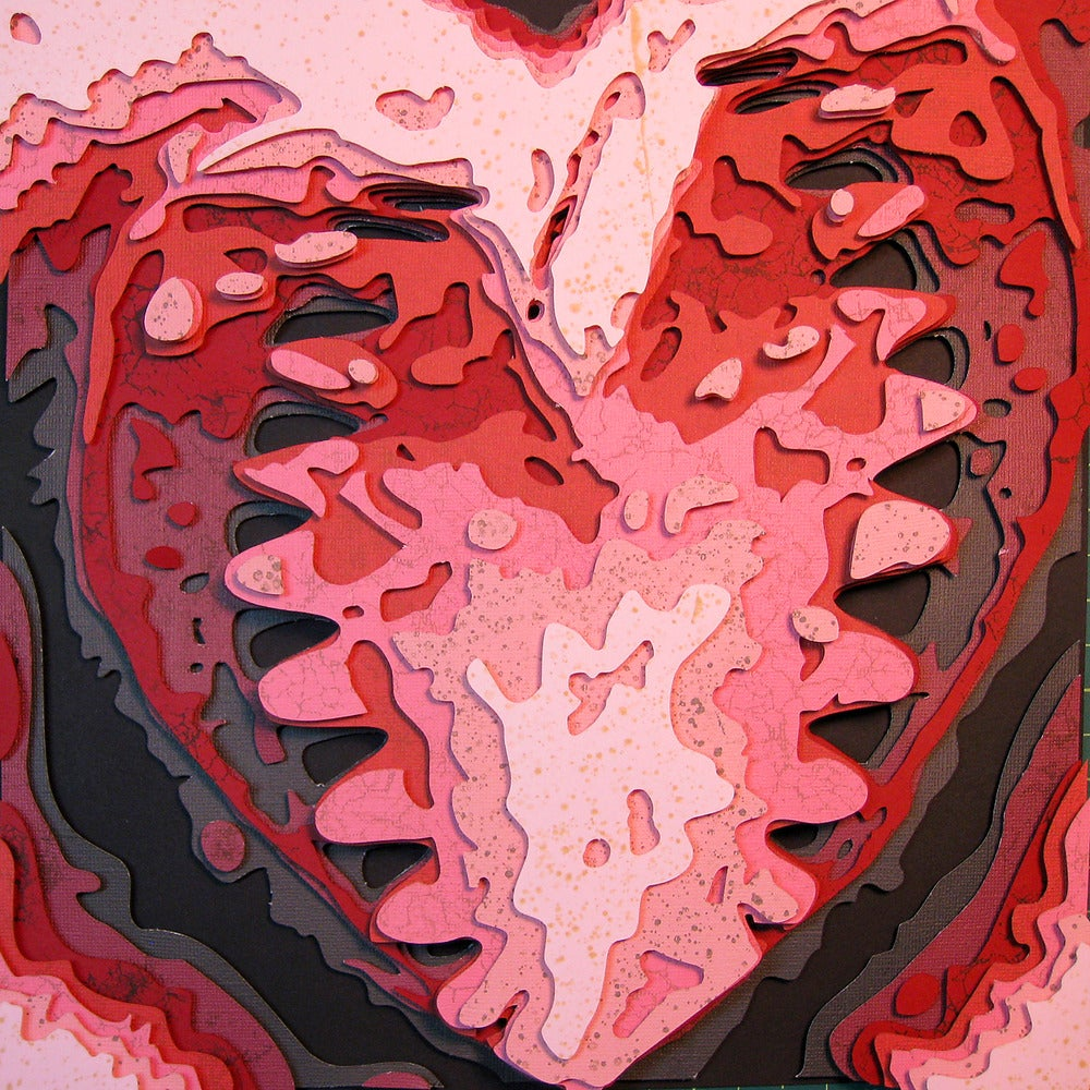 Image of Black Tooth Heart Optograph