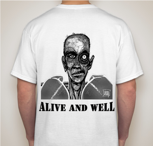 Image of Alive and Well T-Shirt (Front and Back)