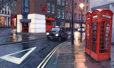 Image of Hackney Carriage Limited Edition Print