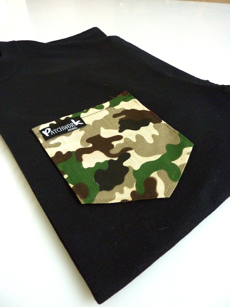 Image of Camo Pocket T-shirt