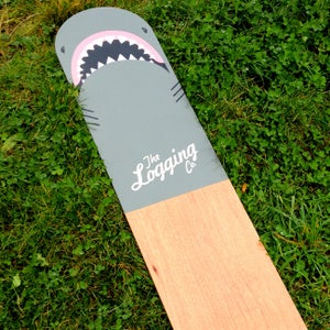 Image of 'Jaws' marine ply bellyboard