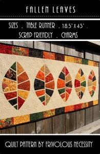 Image of Fallen Leaves Quilt Pattern PDF