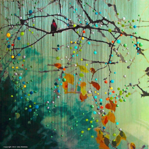 Image of Birdsong - Green Morning Mist -  Introspection. Awakening to new possibilities.